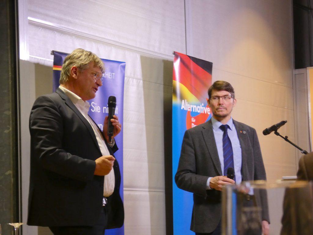 Politischer Aschermittwoch im März mit Prof. Dr. Jörg Meuthen und Dr. Paul Schmidt