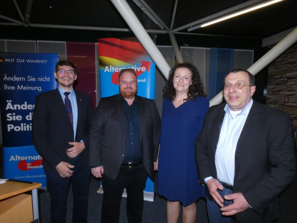 AfD-Themenabend mit Dr. Vera Kosova, Mai 2019